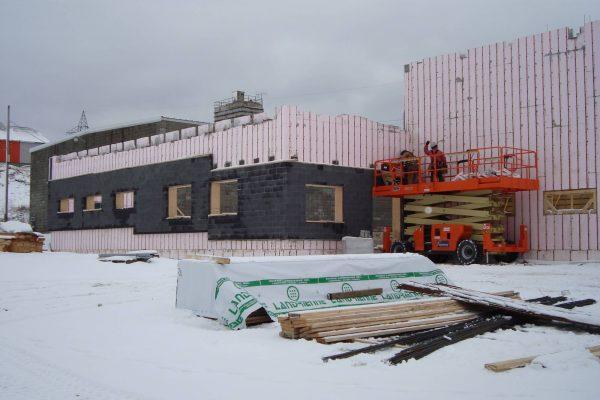 hardy construction Béton Fortin Amos 12