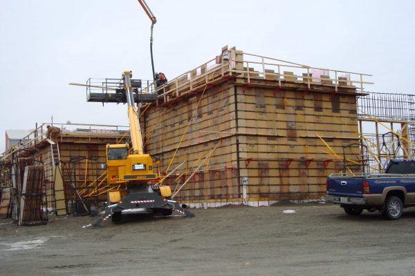 hardy construction Béton Fortin Amos 18